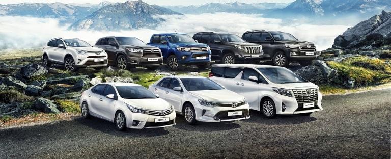 Выкуп и оценка Toyota в Москве