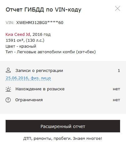 Краткий отчет Дром.ру
