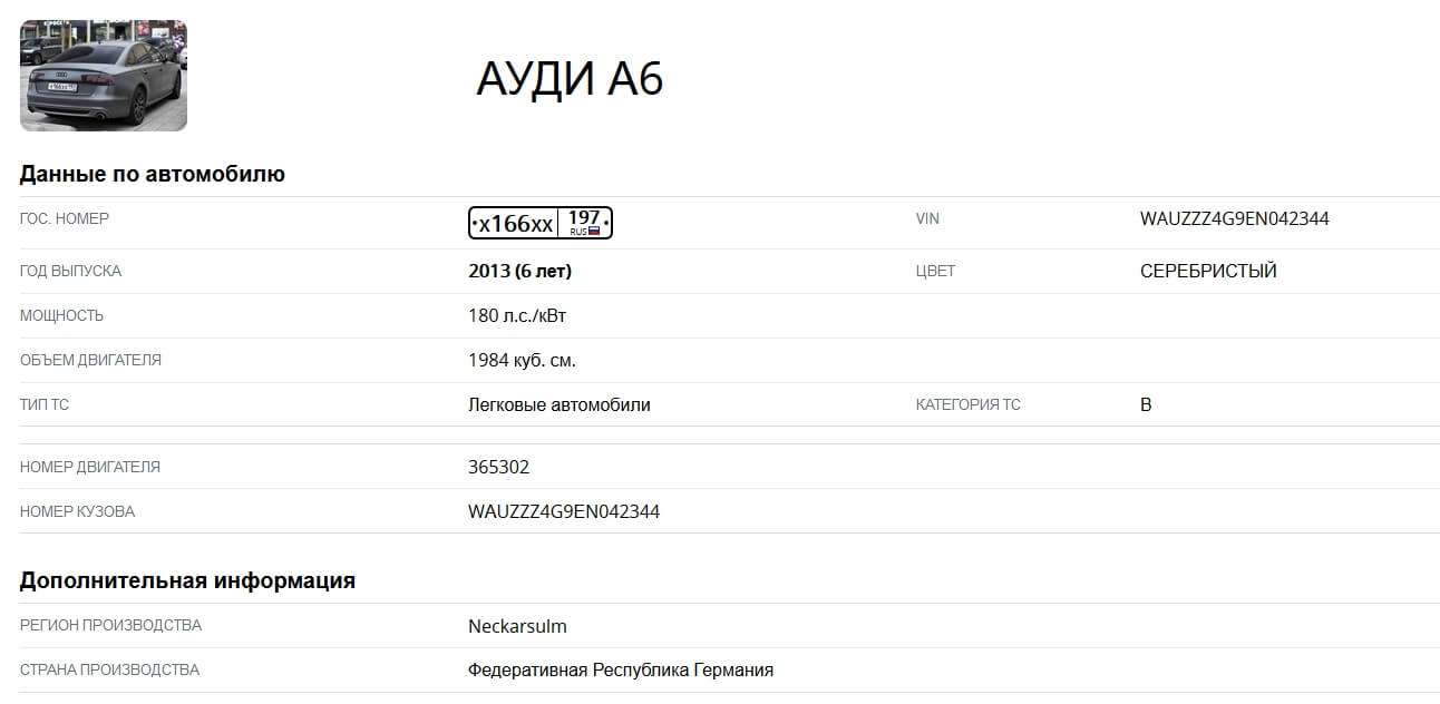 avtokods.ru отчет